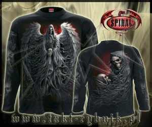 Longsleeve DEATH ROBE imp. ALL PRINT