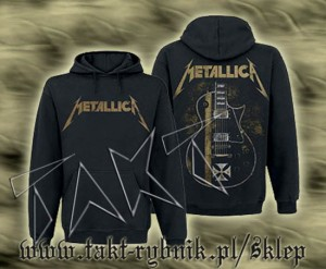 "Bluza kangurek METALLICA ""James Hetfield Guitar"" imp."