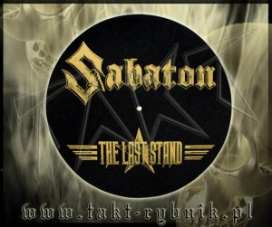 "Slipmata do gramofonu SABATON ""The Last Stand"" logo"