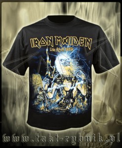"Koszulka IRON MAIDEN ""Live After Death"" imp."