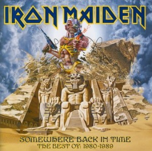 "Płyta CD IRON MAIDEN ""Somewhere Back In Time. The Best Of 1980-1989"" - 2008'"