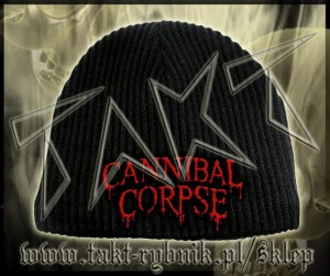 "Czapka CANNIBAL CORPSE ""Logo Red"""