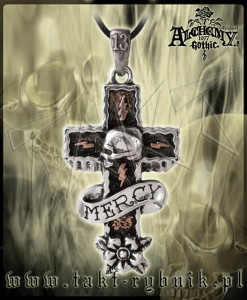 Wisiorek Alchemy MERCY CROSS