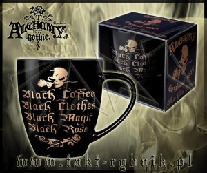 Kubek Alchemy BLACK COFFEE rose gold