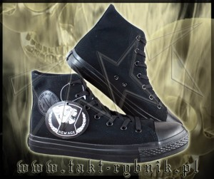 Trampki niskie ALL BLACK New Age 2 r.36-50 czarne