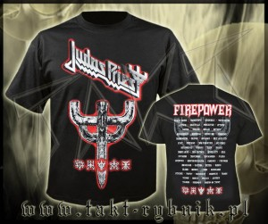 "Koszulka JUDAS PRIEST ""Graphic Emblem City"" imp."