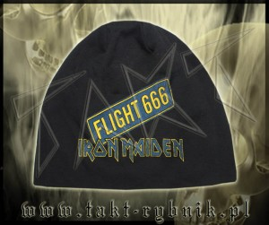 "Czapka IRON MAIDEN ""Flight 666"" 02"