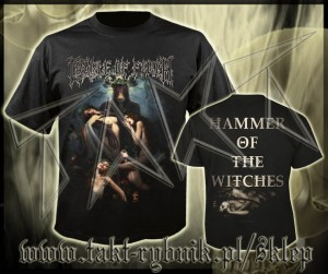 "Koszulka CRADLE OF FILTH ""Hammer Of The Witches"" imp."