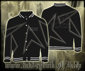 "Bluza baseball AC/DC ""Back In Black"" imp."