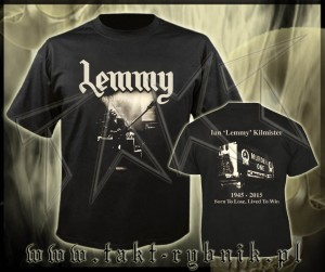 "Koszulka MOTORHEAD ""Lemmy - Lived To Win"" imp."