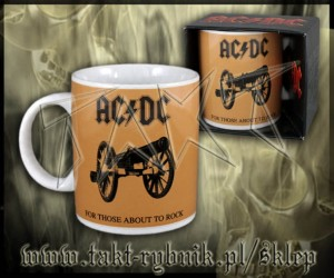 "Kubek AC/DC ""For Those About To Rock"" 1"