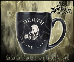 Kubek Alchemy DEATH BEFORE DECAF