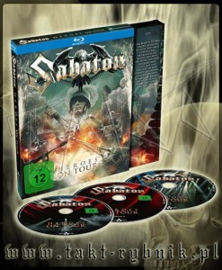 "Płyta 2BLU-RAY + CD SABATON ""Heroes On Tour"" DIGIPACK - 2016'"