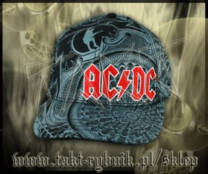 "Czapka AC/DC ""Black Ice"" all print"