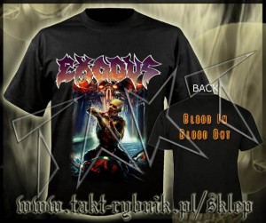 "Koszulka EXODUS ""Blood In Blood Out"" imp."