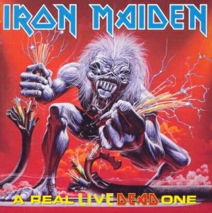 "Płyta 2CD IRON MAIDEN ""A Real Live Dead One"" - 1998'"