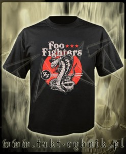 "Koszulka FOO FIGHTERS ""Snake"" imp."