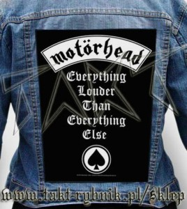 "Ekran na kurtkę MOTORHEAD ""Everything Louder Than Everything Else""imp."