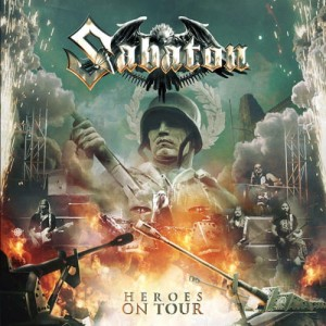 "Płyta CD SABATON ""Heroes On Tour"" - '2016"