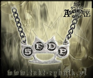 "Wisiorek Alchemy FIVE FINGER DEATH PUNCH ""Knuckle Duster"""