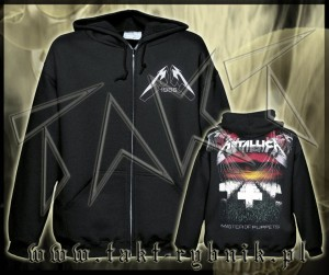 "Bluza na zamek METALLICA ""Master Of Puppets"" faded imp."