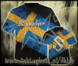 "Koszulka SABATON ""Swedish Empire Live"" DELUX all print imp."