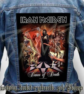 "Ekran na kurtkę IRON MAIDEN ""Dance Of Death"""