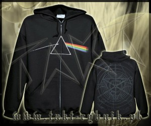 "Bluza na zamek PINK FLOYD ""The Dark Side Of The Moon"" imp."