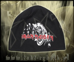 "Czapka IRON MAIDEN ""Number Of The Beast"""