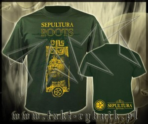 "Koszulka SEPULTURA ""Roots 30 Years"" imp. GREEN"