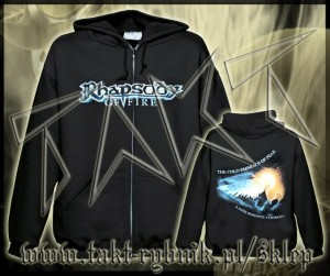"Bluza na zamek RHAPSODY OF FIRE ""The Cold Embrace Of Fear"" imp."
