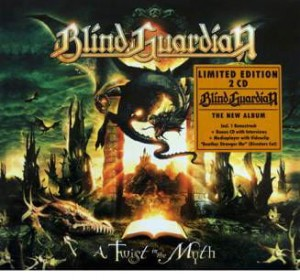 "Płyta 2CD BLIND GUARDIAN ""A Twist In The Myth"" DELUXE - 2006'"