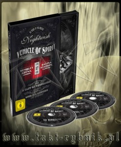 "Płyta 3DVD NIGHTWISH ""Vehicle Of Spirit"" DIGIBOOK - 2016'"