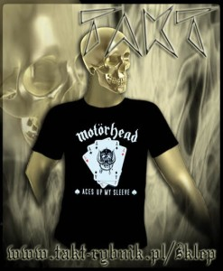 "Koszulka MOTORHEAD ""Aces Up My Sleeve"" imp."