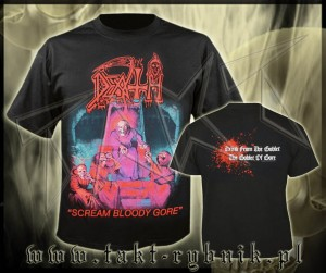 "Koszulka DEATH ""Scream Bloody Gore"" imp."