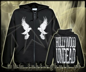 "Bluza na zamek HOLLYWOOD UNDEAD ""Mirror Doves"" imp."