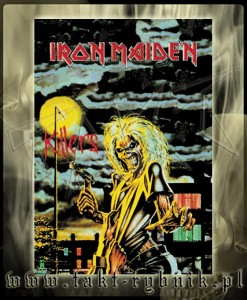 "Flaga IRON MAIDEN ""Killers"" - HFL050"