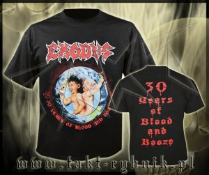 "Koszulka EXODUS ""30 Years Of Blood And Booze"" imp."