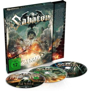 "Płyta 2DVD+CD SABATON ""Heroes On Tour"" DIGIPACK - '2016"
