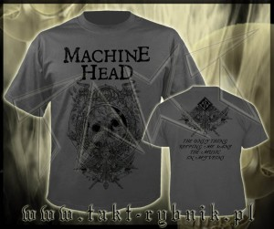 "Koszulka MACHINE HEAD ""Clock"" GREY imp."