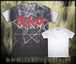 "Koszulka SLIPKNOT ""Giant Star Sublimation"" all print WHITE imp."