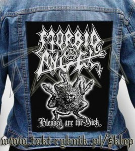 "Ekran na kurtkę MORBID ANGEL ""Blessed Are The Sick"""