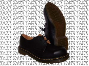 Glany 3 DR.MARTENS 1925 5400 Black Fine