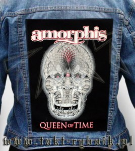 "Ekran na kurtkę AMORPHIS ""Queen Of Time"""