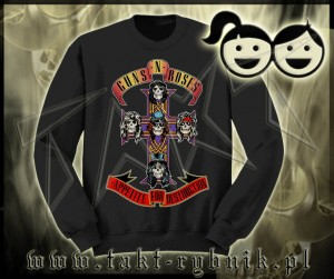 "Bluza prosta dziecięca GUNS'n'ROSES ""Appetite For Destruction"" imp."