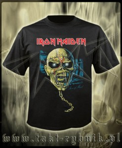 "Koszulka IRON MAIDEN ""Piece of Mind"" 2 imp."