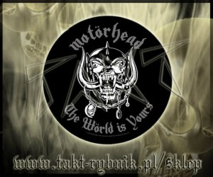 "Ekran okrągły MOTORHEAD ""World Is Yours"""