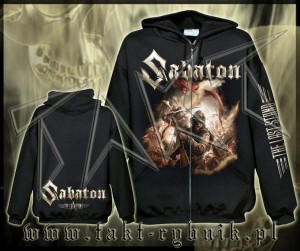 "Bluza na zamek SABATON ""The Last Stand"" ALL PRINT imp."