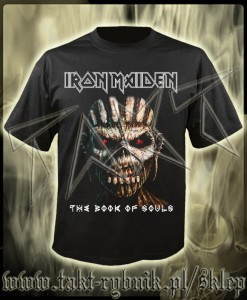 "Koszulka IRON MAIDEN ""The Book Of Souls"" 1 imp."