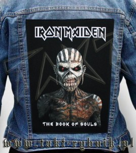 "Ekran na kurtkę IRON MAIDEN ""The Book Of Souls"""